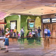 Freedom Church Lobby Rendering